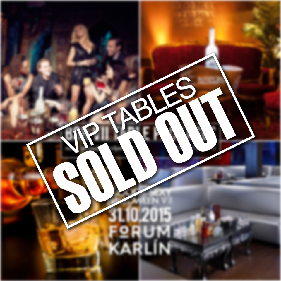 VIP STOLŮ SOLD OUT